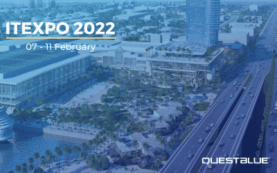 QuestBlue signs on as a Platinum Sponsor at ITEXPO / TECHSUPERSHOW 2022!